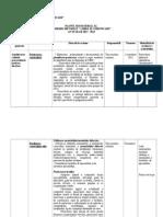 Plan Managerial al comisiei Limba Si Comunicare 2013-2014