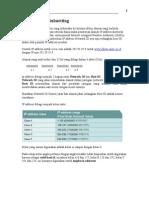 IP Address & Subnetting