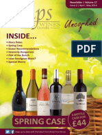 Amps Fine Wines Newsletter April/May