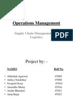 SCM & Logistics