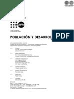 Revista N 34 - POBLACION Y DESARROLLO - FAC CIENCIAS ECONOMICAS NACIONAL - PORTALGUARANI