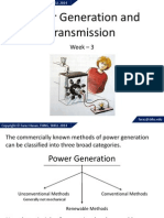Lecture 3 Power Generation Transmission