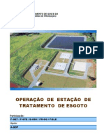 Engenharia - Manual de Operação de ETE