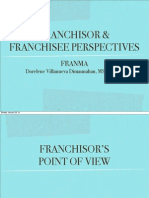 SESSION 2 - Franchisors & Franchisees