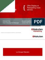 Présentation Rakuten Mediaforge