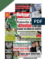 LE BUTEUR PDF du 22/10/2009