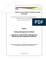 TAILSAFE Legislation and Regulation