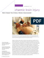 Hypoxic-Ischaemic Brain Injury