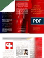 Sports Medicine & Recreational Management Brochure
