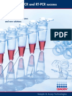 Maximizing Pcr and Rt Pcr Success Second Edition