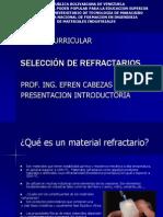 REFRACTARIOS1raClasePresentacion