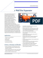 3-Phase Test Separators VVF