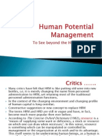 Human Potential Management
