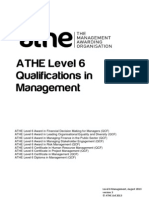 ATHE - Level 6 Management Specification2