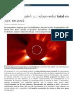 Balazo Solar