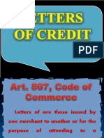 Letters of Credit power point presentation; negotiable instruments