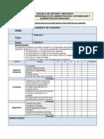 Matriz Evaluacion de Proyectos 2013