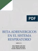 Beta Adrenergicos