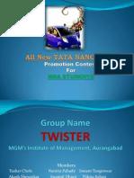 Tata nano twist promotion plan