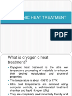 Cryogenic Heat Treatment