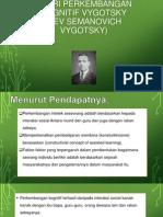 Teori Perkembangan Kognitif Vygotsky