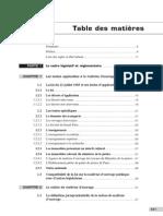 Sommaire La loi MOP - 3e édition 2013