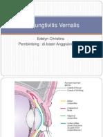 Konjungtivitis Vernalis / edelyn christina