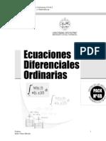 Ecuaciones Diferenciales Ordinarias Chile