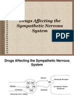 Drugs Affecting the Sympathetic Nervous System