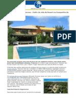 Casas de Luxo em Trancoso - Estilo de vida de Resort na Companhia da Natureza