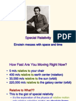 Einstein Velocity