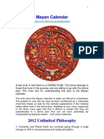 2012 - The Mayan Calendar - And the World's Prophecies