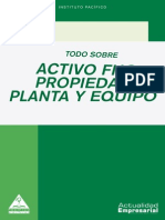 Activo Fijo, Propiedad Planta y Equipo