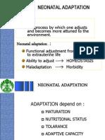 Adaptasi Neonatus (Kuliah m'Siswa Tk.iv) Prof.asril