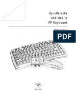 Gyration Keyboard Manual