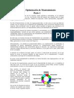 PMO – Optimización de Mantenimiento