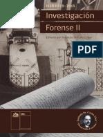 Libro Investigacion Forense II