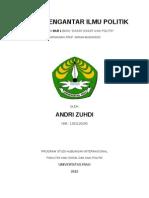 Cover Dasar Ilmu Politik..