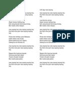 Lirik Lagu Kt