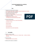 Benchamarking de La Empresa (1)