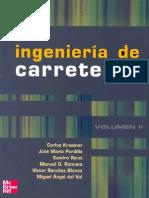 Ingeniería de carreteras Vol. II
