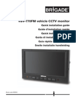 VBV-770FM (3901) - Installation Guide