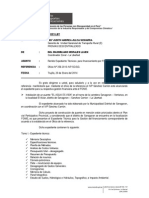 Informe Nº xxx-2014 Expediente puente El Agua es Vida para financiamiento FONIE - SANCHEZ CARRION