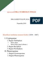 SISTEMATIKA SPERMATOPHYTA
