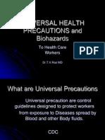Universal Safety (Health) Precautions
