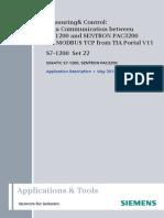 Comunicacion Plc y Pac3200