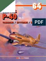 (Monografie Lotnicze No.64) Curtiss P-40 Tomahawk/Kittyhawk/Warhawk, Cz.1