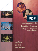 Mahogany-Ecology and Perspectives of Management
