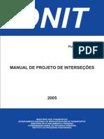 Manual de Projeto Intersecoes Denit