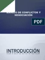 Manejode Conflictos y Negociacon